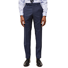 Buy Jaeger Wool Hammerhead Regular Fit Suit Trousers, Chambray Online at johnlewis.com
