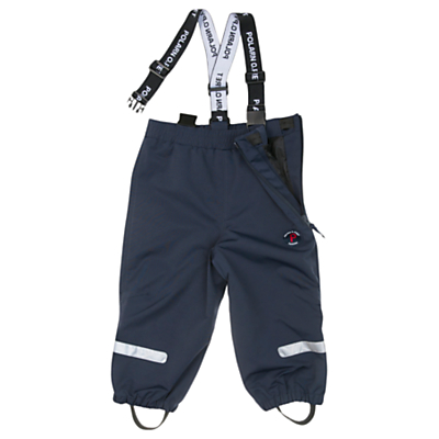 Product photo of Polarn o pyret baby shell trousers blue