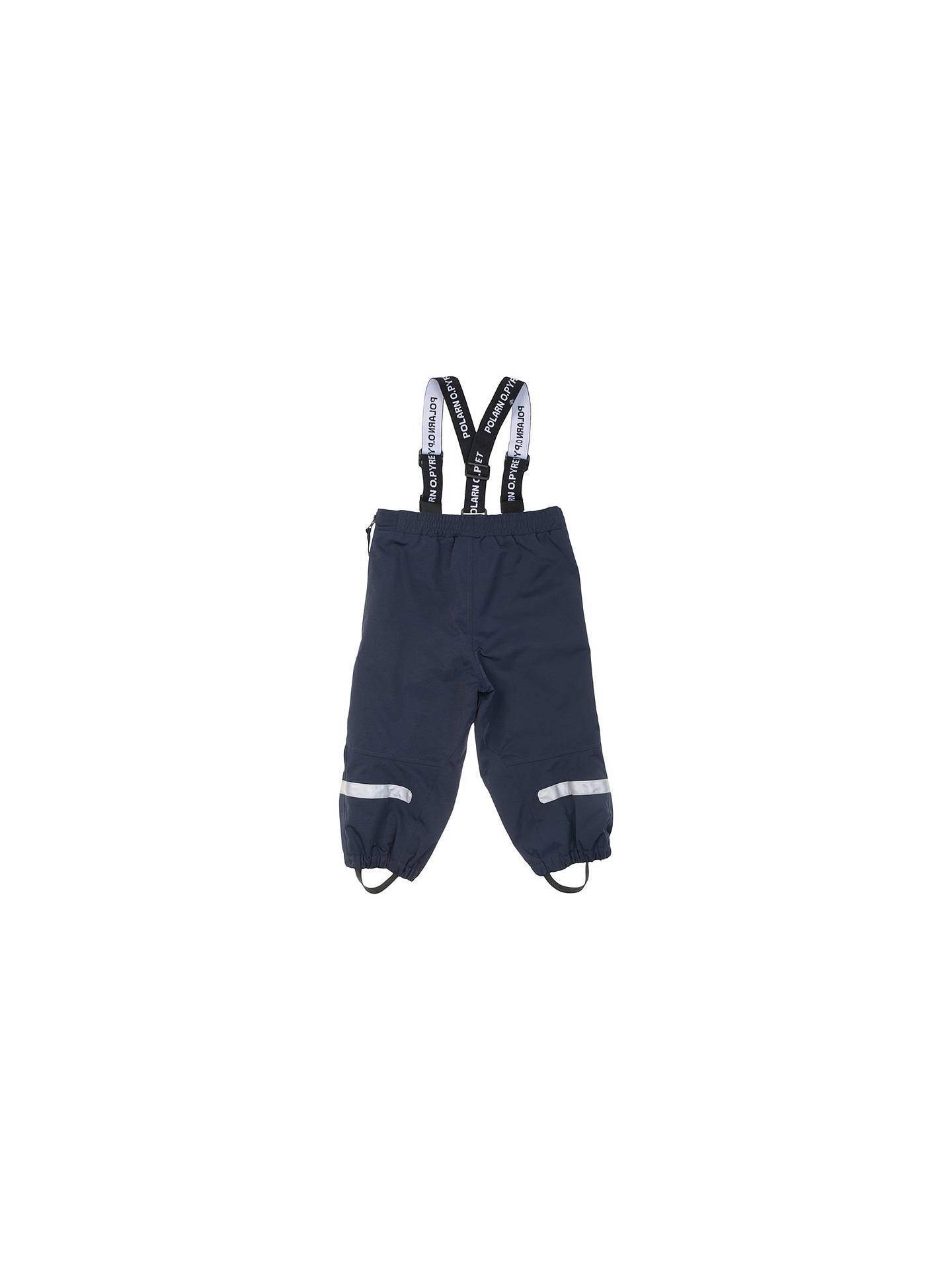 BuyPolarn O. Pyret Baby Shell Trousers, Blue, 6-9 months Online at johnlewis.com