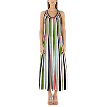 Buy Marc Cain Stripe Maxi Dress, Candy Pink Online at johnlewis.com
