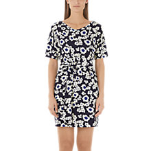 Buy Marc Cain Daisy Print Jersey Dress, Midnight Blue Online at johnlewis.com