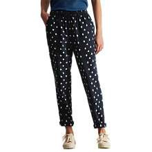 Buy Toast Ikat Cotton Trousers, Navy Online at johnlewis.com