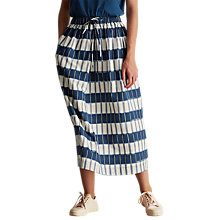 Buy Toast Provence Ikat Skirt, Blue/White Online at johnlewis.com