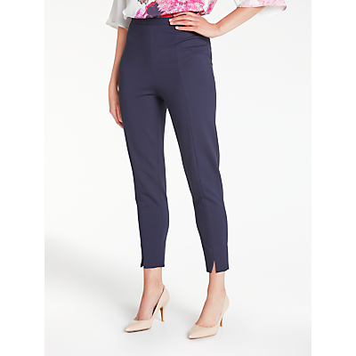 Bruce by Bruce Oldfield Slim Ponte Trousers, Navy