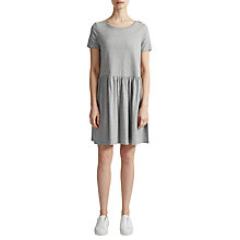 Buy French Connection Louis Cotton Jersey Flared Dress Online at johnlewis.com
