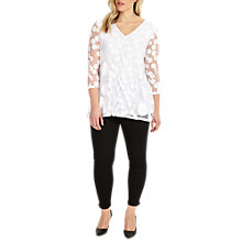 Buy Studio 8 Ashanti Top, White Online at johnlewis.com