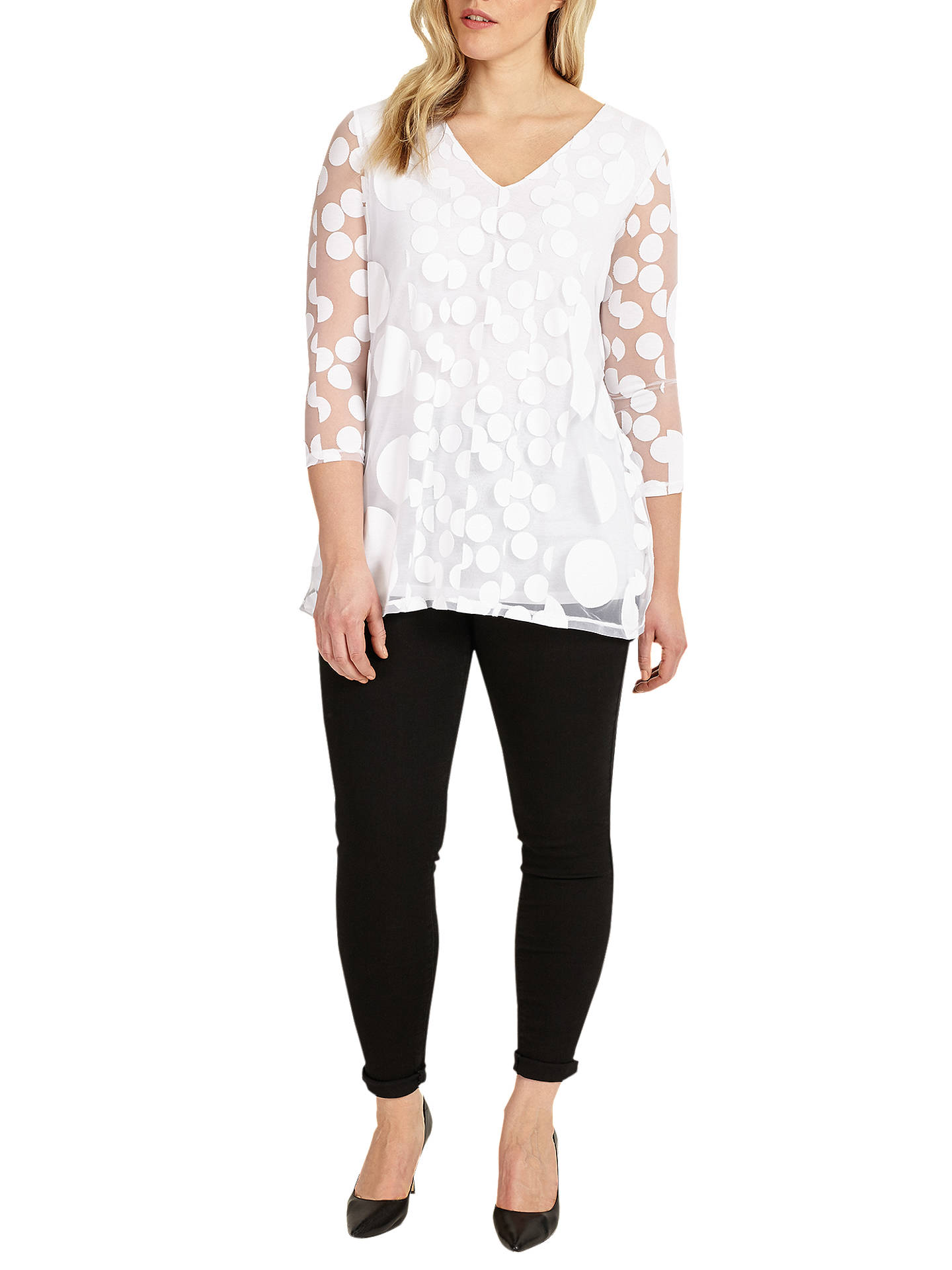 BuyStudio 8 Ashanti Top, White, 12 Online at johnlewis.com