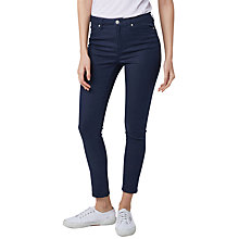 Buy Warehouse Ultra Skinny Cut Jeans, Blue Online at johnlewis.com