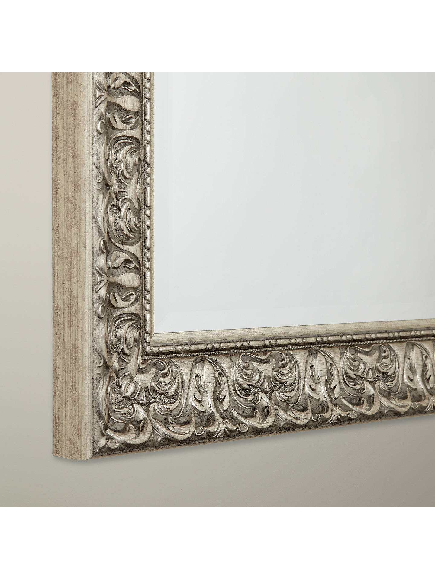 BuyJohn Lewis & Partners Constantina Rectangular Mirror, Champagne, 107 x 77cm Online at johnlewis.com