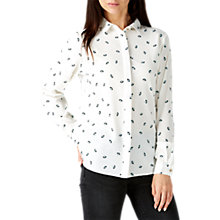Buy Sugarhill Boutique Blair Umbrella Shirt, Cream/Black/Mint Online at johnlewis.com