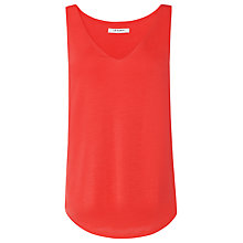 Buy L.K. Bennett Ada Sleeveless V-Neck Jersey Top Online at johnlewis.com