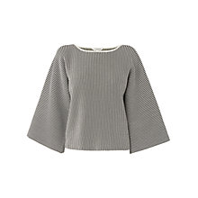 Buy L.K. Bennett Finn Kimono Sleeve Knitted Top, Multi Online at johnlewis.com