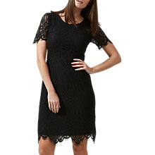 Buy Sugarhill Boutique Dawn A-Line Lace Dress, Black Online at johnlewis.com