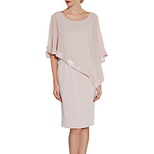 Buy Gina Bacconi Crepe Dress And Sequin Chiffon Cape Online at johnlewis.com