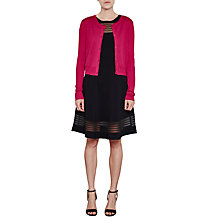Buy French Connection Spring Light Round Neck Cropped Cardigan Online at johnlewis.com