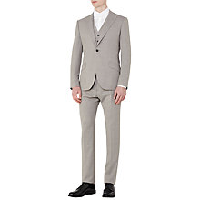 Buy Reiss Jones Wool Classic Fit Three Piece Suit, Grey Online at johnlewis.com