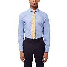 Buy Jaeger Hammerhead Weave Slim Fit Shirt, Blue Online at johnlewis.com