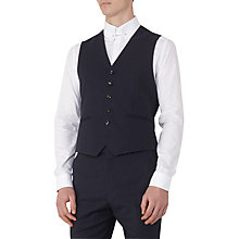 Buy Reiss Drifter Pure Wool Slim Waistcoat, Navy Online at johnlewis.com