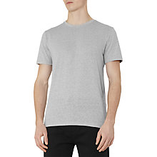 Buy Reiss Barnington Flecked Crew Neck T-Shirt Online at johnlewis.com