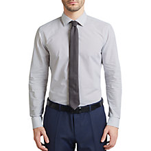 Buy HUGO by Hugo Boss C-Jenno All Over Print Slim Fit Shirt, White Online at johnlewis.com
