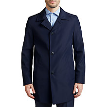 Buy HUGO by Hugo Boss C-Dais Water Repellent Coat, Dark Blue Online at johnlewis.com