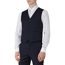 Buy Reiss Monarch Modern Fit Waistcoat, Bright Blue Online at johnlewis.com