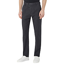 Buy Reiss Horatio Cotton Slim Fit Trousers, Indigo Online at johnlewis.com