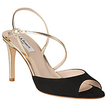 Buy L.K. Bennett Camilla Peep Toe Stiletto Sandals Online at johnlewis.com