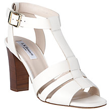 Buy L.K. Bennett Selena Block Heeled Sandals Online at johnlewis.com