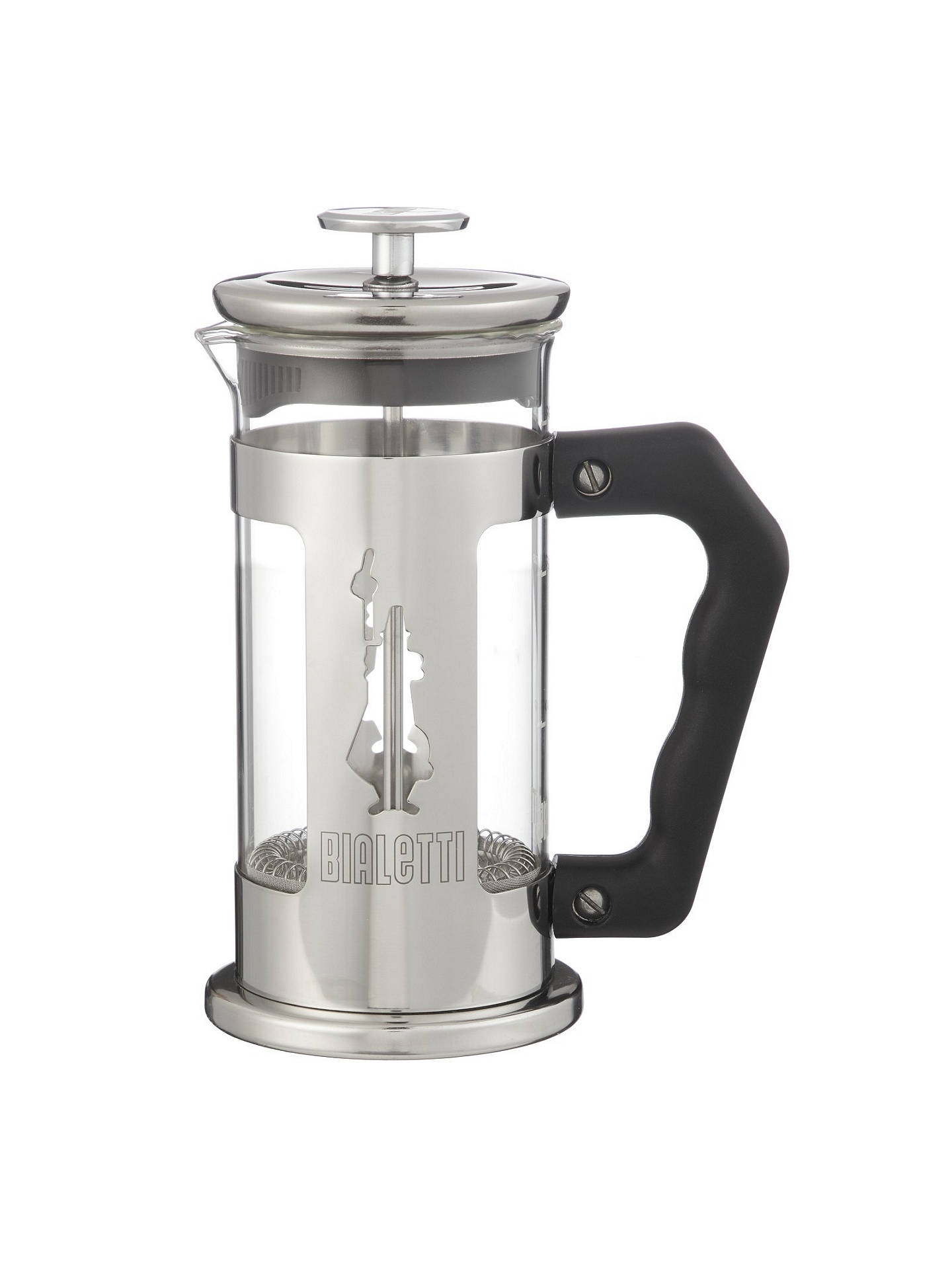 BuyBialetti Preziosa French Coffee Press, Silver, 3 Cups Online at johnlewis.com