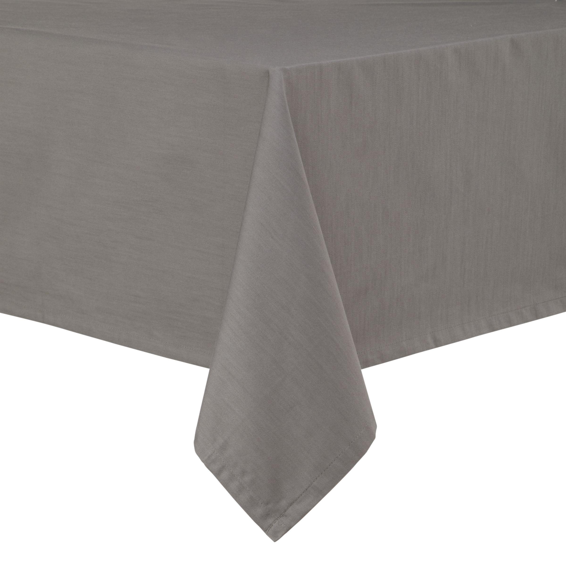 John Lewis Partners Mezzo Tablecloth Grey At John Lewis Partners