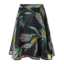 Buy L.K. Bennett Kalia Geo Flowers Skirt, Multi Online at johnlewis.com