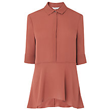 Buy L.K. Bennett Perri Silk Woven Top Online at johnlewis.com
