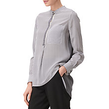 Buy L.K. Bennett Jodie Thin Pinstripe Blouse, Multi Online at johnlewis.com
