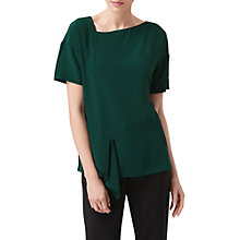 Buy L.K. Bennett Jenice Kimono Sleeve Top, Green Online at johnlewis.com