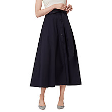 Buy L.K. Bennett Darly Cotton Skirt Online at johnlewis.com