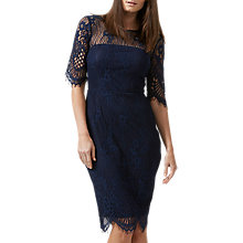 Buy Sugarhill Boutique Grace Lace Dress, Navy Online at johnlewis.com