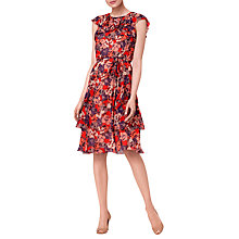 Buy L.K. Bennett Kayla Silk Dress, Multi Online at johnlewis.com