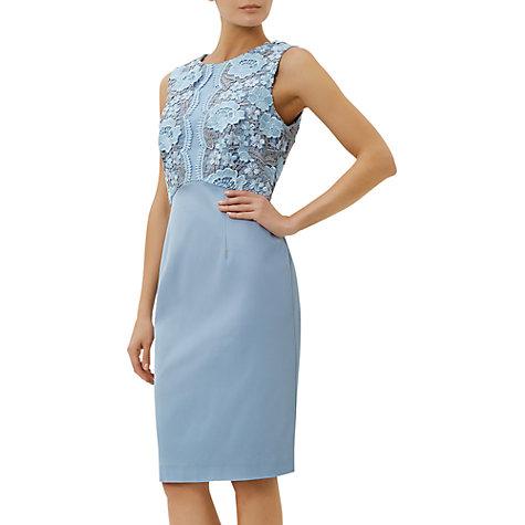 Fenn wright manson blue lace dress
