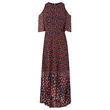 Buy L.K. Bennett Shauna Exposed Shoulder Silk Dress, Multi Online at johnlewis.com