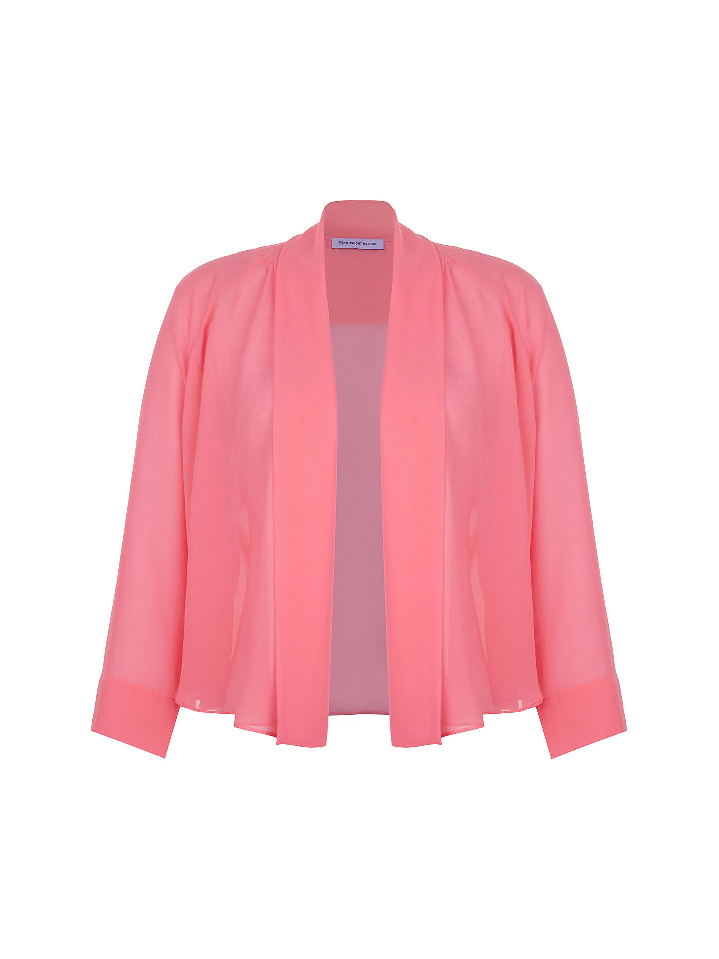 BuyFenn Wright Manson Miro Shrug, Pink, S Online at johnlewis.com