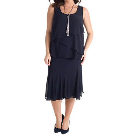 Buy Chesca Chiffon Skirt Online at johnlewis.com