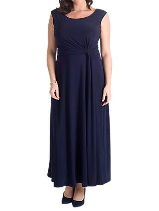 Chesca Jersey Maxi Dress, Navy