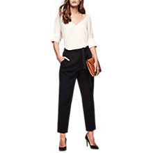 Buy Gerard Darel Petra Trousers, Black Online at johnlewis.com