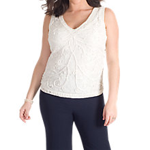 Buy Chesca Cornelli Embroidered Lace Cami Online at johnlewis.com