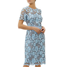 Buy Fenn Wright Manson Mykonos Dress, Pale Blue Online at johnlewis.com