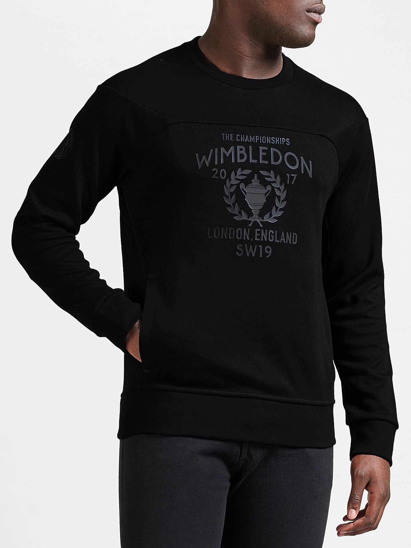 Wimbledon 2017 Lauren Crew Polo Sweatshirt Ralph Neck Support GMpzVqULS