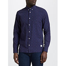 Buy Penfield Weaver Long Sleeve Shirt, Navy Online at johnlewis.com