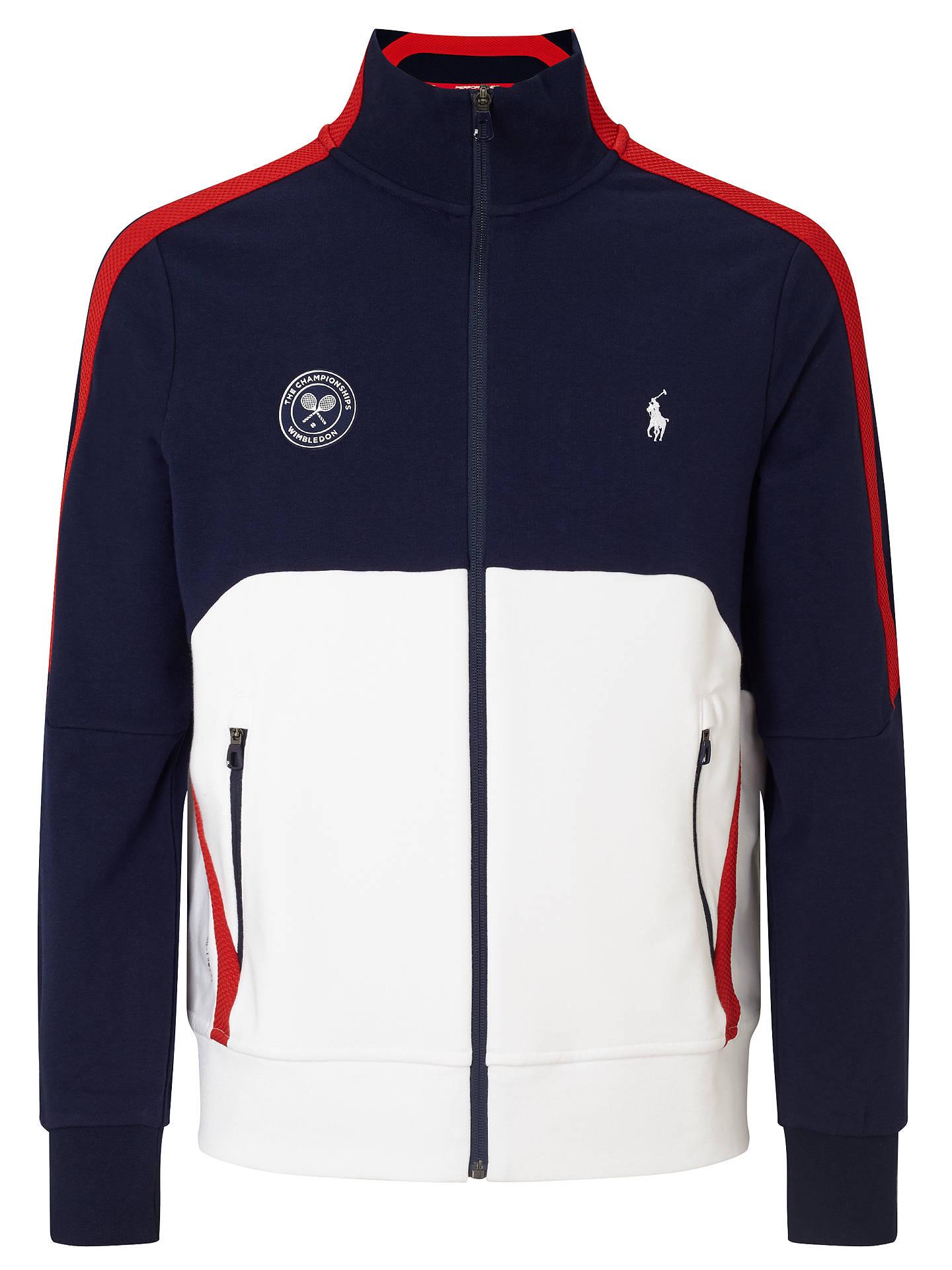 Support Track Polo Lauren 2017 JacketFrench Wimbledon Stripe Ralph uPXkZi