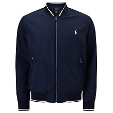 Buy Polo Ralph Lauren Tennis Jacket, Navy Online at johnlewis.com